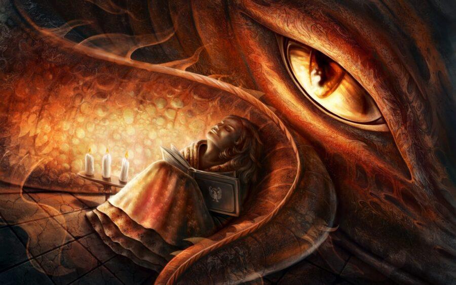 Легко ли любить Дракону? Часть 1.