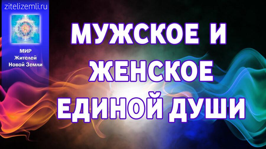 ТЭА/ТАО | Мужское и женское Единой Души.