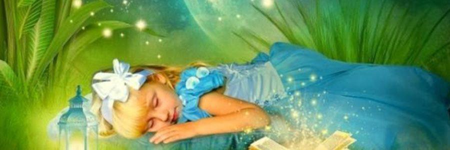 Сказка для маленьких деток, которые боятся ложиться спать одни