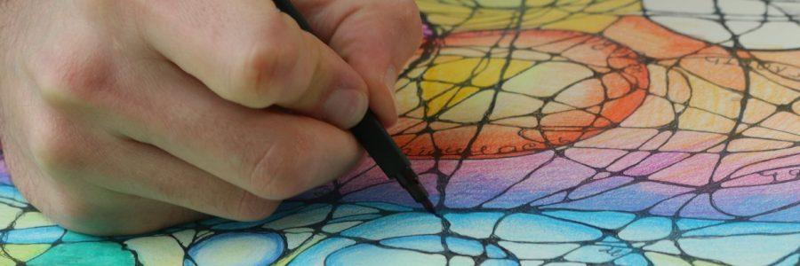 Открытая Мастерская по нейрографике — Практическое занятие по работе с телом и блоками.